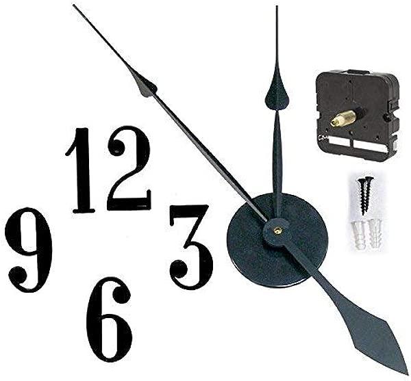 Takane 用这个简单的套件制作一个直径高达 32 英寸的大型挂钟