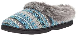 Dearfoams Women's Pattern Knit Clog
