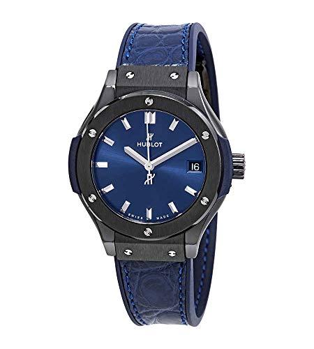 Hublot Classic Fusion Blue Dial Damen-Armbanduhr 581 cm 7170.LR