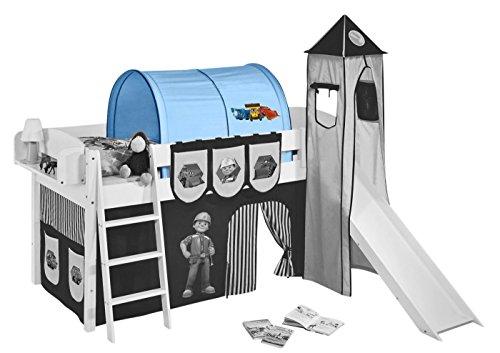 Tunnel Bob der Baumeister - für Hochbett, Spielbett und Etagenbett