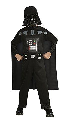 Star Wars 882848 - Disfraz de Darth Vader para niño, Talla M (infantil 5-7 años)