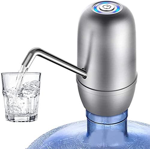 TEPET Grifo eléctrico de Bombas Dobles Relaxbx, Grifo dispensador de Agua Potable fría embotellada para una Botella