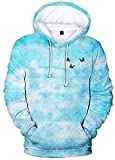 James Charles Colorful Blue Butterfly 3D Hoodies Sweatshirt and T-Shirt Sisters Fashion Men/Women Streetwear Pullovers (WY3D2,L)