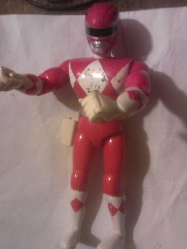 Original Mighty Morphin Power Rangers JASON RED RANGER 8' Action Figure (1993 Bandai)