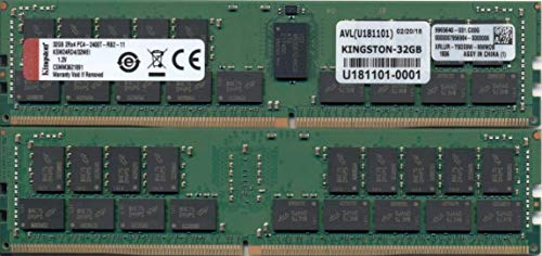 Kingston Ksm24Rd4/32Mei 32 Gb 2400 Mhz Ddr4 Ecc Geregistreerd Geheugen Ram Dimm
