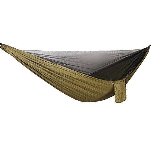 Hangmat Tent Automatisch Snel Open Anti-muggen Hangend Bed Buiten Eenpersoons en Dubbele Parachute Hangend Bed met Muggennetten F