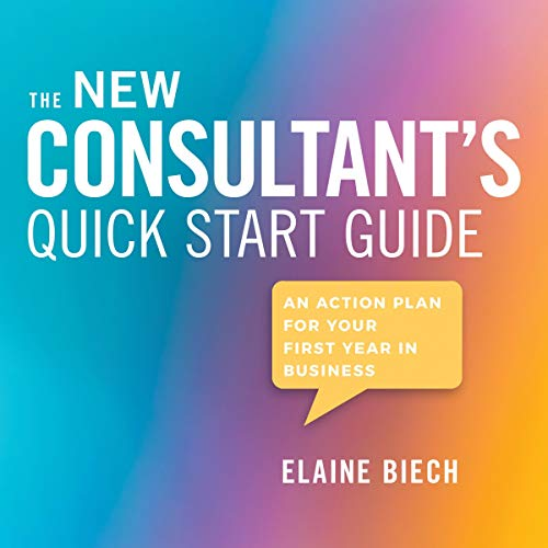 The Consultant's Quick Start Guide cover art