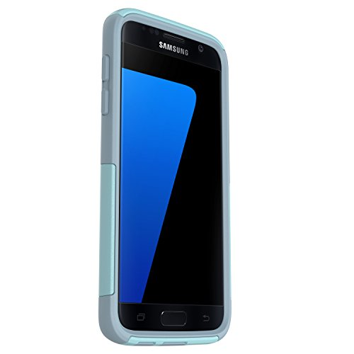 OtterBox COMMUTER SERIES Case for Samsung Galaxy S7 - Retail Packaging - BAHAMA WAY (BAHAMA BLUE/WHETSTONE BLUE)