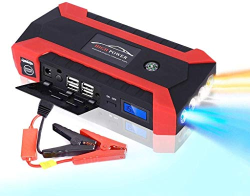 Purchase Ezonedeal Portable Car Jump Starter Battery Pack 1000 Amp Peak 12V 12000mah Car Jump Starte...