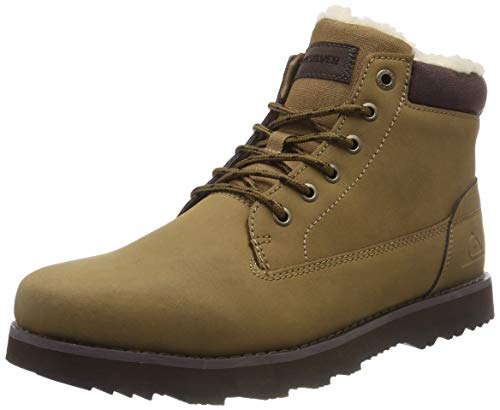 Quiksilver Mission V-Shoes For Men, Botas de Nieve para Hombre, Beige (Tan-Solid Tkd0), 41 EU