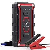 FLYLINKTECH Car Jump Starter, 1500A Peak 20000mAh 12V Portable Car Battery Starter(All Gas&7.0L Diesel Engine), Smart Lithium Jump Starter Auto Battery Booster Built-in LED Light with Quick Charger