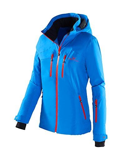 Black Crevice Damen Skijacke, Blau/Rot, 40, BCR251006