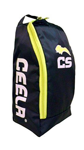Ceela Sports CS-TBBY-01 Polyester Sports Training Shoe Bag (Black/Green)