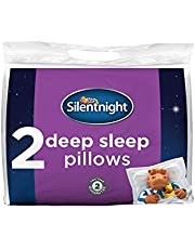 Silentnight Deep Sleep Pillow, White, Pack of 2