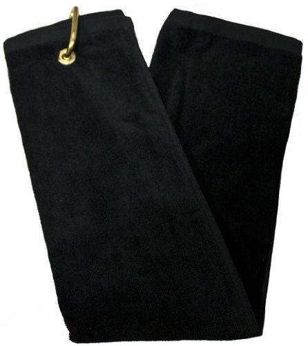 Tri-Fold Towel - Black