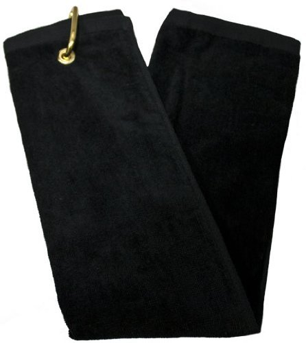 Tri-Fold Towel - Black
