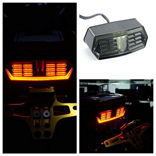 ETbotu Feu arrière LED Clignotant intégré pour Moto Honda Grom MSX 125