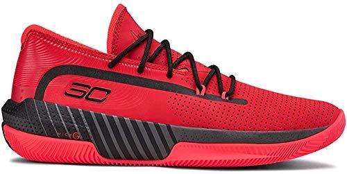 Under Armour Sc 3zer0 Iii, Herren Basketball, Rot (Red/Jet Gray/Black (601) 601), 48.5 EU