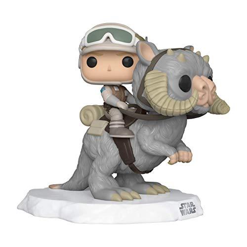 Funko - Pop! Deluxe: Star Wars- Luke on Taun Taun Figura Coleccionable, Multicolor (46764)