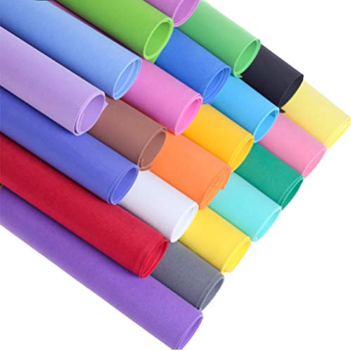 Cabilock Papel de EVA 10 Piezas-Hojas de Espuma de Colores Mezclados Hojas de Papel de Esponja Hechas a Mano