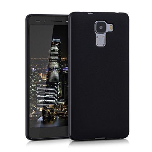 kwmobile Hülle kompatibel mit Huawei Honor 7 / Honor 7 Premium - Handyhülle - Handy Case in Schwarz matt