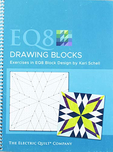 Electric Quilt Company EQ8 Drawing Blocks Book
