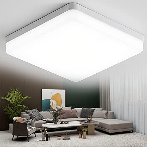 KSIBNW LED Lámpara de Techo 36W para Baño,3240LM,Ø23cm, Impermeable IP54, Blanco Frío...