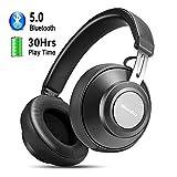 Bluetooth Wireless Kopfhörer - Stereo Drahtlose Headset Over Ear Ohrhörer mit Kräftigen...