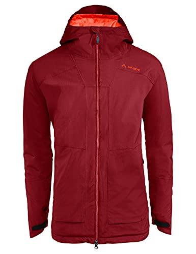 VAUDE Men's Elope Padded Jacket Giacca, Carminio, L Uomo