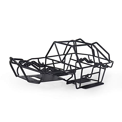 Full Tube Frame Metal Chassis Metal Body Roll Cage for 1/10 RC Crawler Truck Axial SCX10 II 90046 90047
