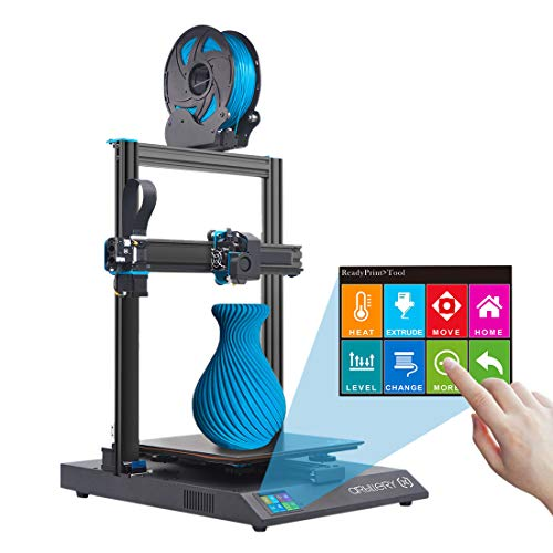 Artillery Sidewinder x1 3D Printer, Newest V4 Version Sidewinder-X1 Multi-function 3D Printer with Aluminum Extrusion Frame & Filament Runout Sensor