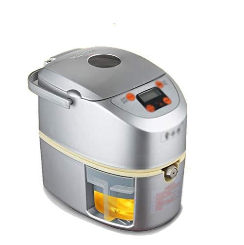 JBHURF Hausautomation kleine Ölpresse, Öl-Sauger, Ölpumpeinheit, 24-Stunden-Kaltpresse heißes Öl Presse, automatische Backen von Mehreren Rohöle