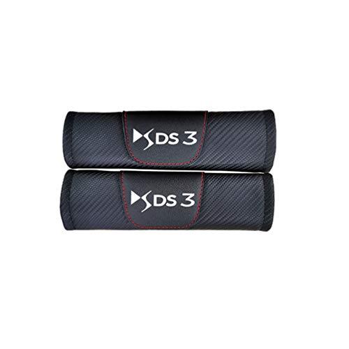 YOWAX para Citroen Ds3, Cubierta De CinturóN De Cuero De Moda para Coche, CinturóN De Seguridad para Coche, Almohadilla para El Hombro, Accesorios para Coche para Opel Adam 2 Uds