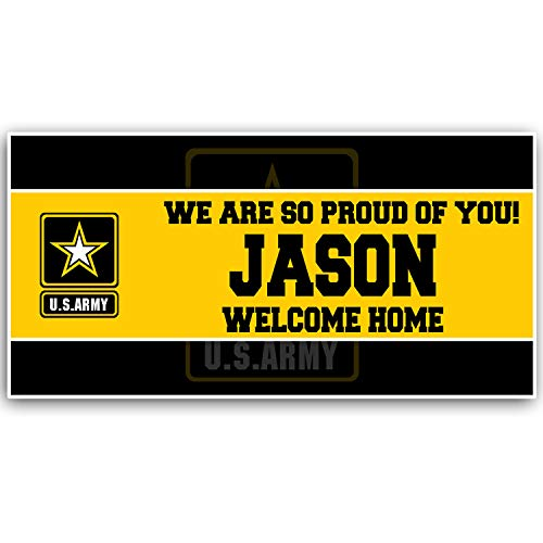 Welcome Home Army Military Banner