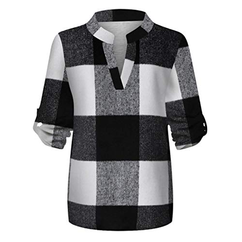 2021 Fashion Spring Women Casual Cotton Long Sleeve Plaid Shirt Women's Slim Jacket Shirt Top Skin-Friendly bluses Mujer de Moda