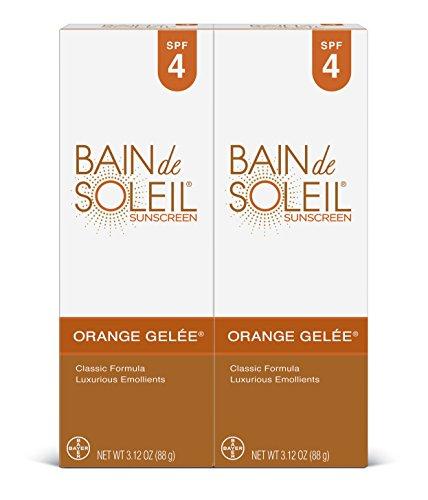 Bain de Soleil Orange Gelee Sunscreen, 3.12 oz (Pack of 2) ( Pack May Vary )