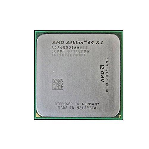 AMD - Procesador CPU Athlon 64 X2 6000 + 3 GHz, 2...