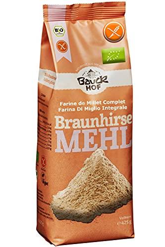 Farine De Millet Sans Gluten Complète – Millet Brun Complet 425g | Farine De Millet Brun Sans Gluten Intégrale - Farine De Millet Bio Sans Gluten