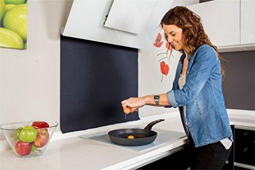 Protesalpic Pantalla Protector Antisalpicaduras Cocina (Color Plata)