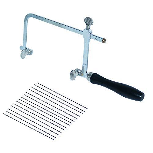 Juego de 12 piezas de sierra de corte de cera para joyeros con hoja de sierra, herramientas de joyería