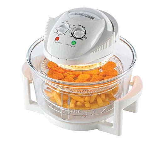 New Large 17 Litre White Premium Convection Halogen Oven C