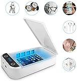 Byakov Disinfettante Cellulare UV, Disinfettante per Telefoni Cellulari UV con Ricaricabil...