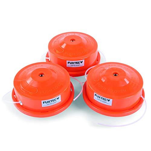 3er Spar Set Doppelfadenkopf Fadenspule Nylonfaden für FUXTEC Multitool