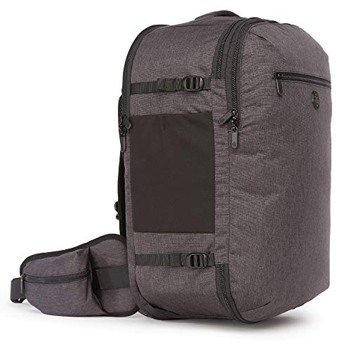 Tortuga Men's Setout 35L - Mid-Size Carry On Travel Backpack (Heather Grey)