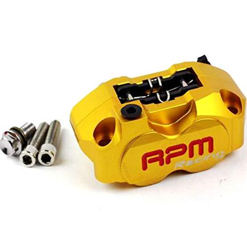 CfMdNb Motocicleta RPM Pinza de Freno con Bomba de Disco de Freno de 200 mm Componente Radial de 4 pistones para Yamaha Kawasaki Scooter Modificación