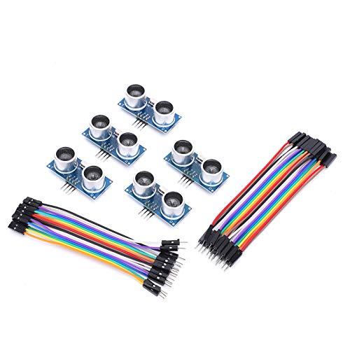 5-teiliges Ultraschall-Distanzmessmodul Für RaspberryPi + Steckerdraht HC-SR04 Sensor Raspberry Pi