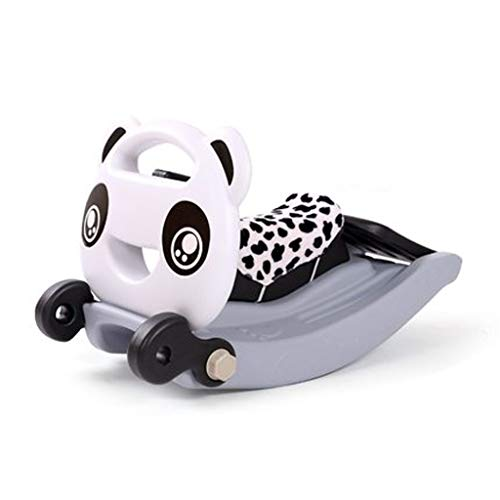 Best Prices! Rocking horse ZJING Slide Combination Thickening Children's Gift Indoor Baby Two-in-one...