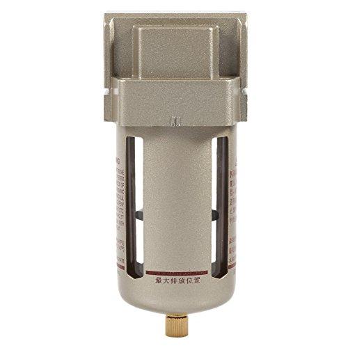 Filtre à air comprimé 1/2 '' Compresseur Séparateur d'humidité Trap Nettoyant Filtre à air Accessoires Compresseur Extraction d'Impureté Protection Equipement d'air Comprimé 170 * 70 * 68 mm