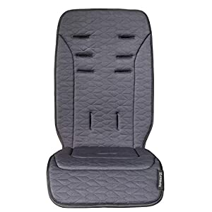 UPPAbaby Reversible Seat Liner – REED (denim/cozy knit)