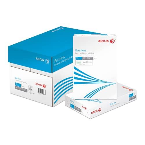 Xerox Business - Papel multifunción (2 agujeros, 80 g/m², A4, 5 x 500 hojas), color blanco